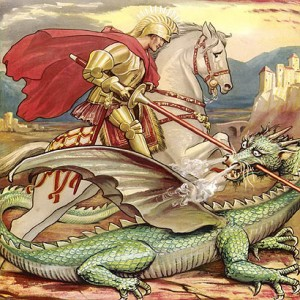 St. George - he fought dragons too...