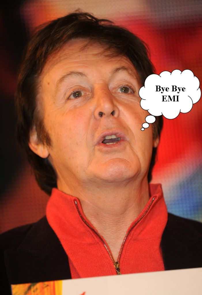 Paul Mccartney Dumps Emi For Inlabel Routenote Blog