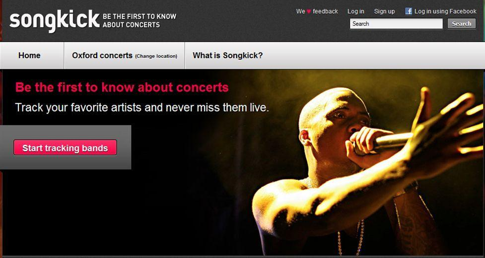 SongKick Partner with YouTube to Offer Concert Suggestions ...