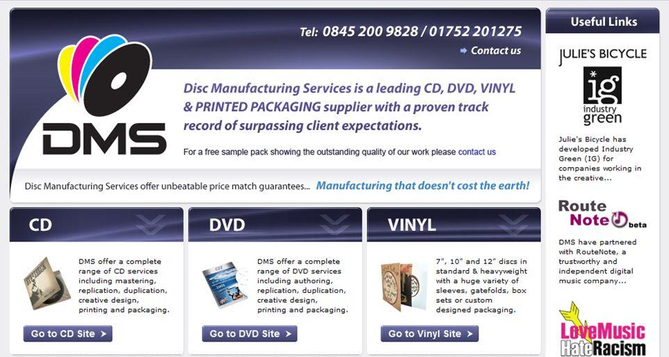 disc manufacturing services - RouteNote Blog
