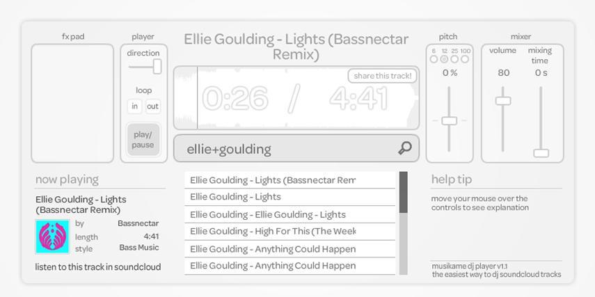 soundcloud dj mixer app