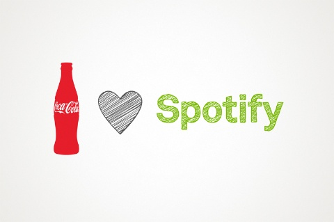 spotify coca cola funding spotify browser beta