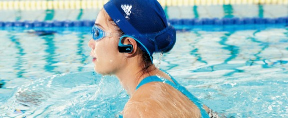 sony walkman w series waterproof music player
