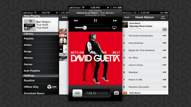 gmusic google all access music streaming ios iphone ipad app