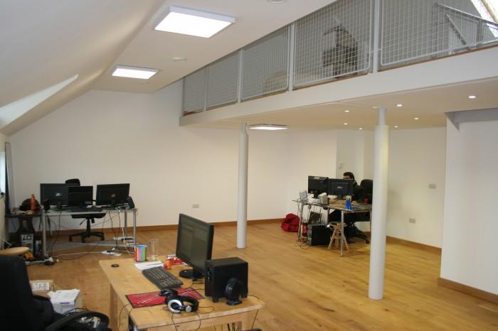 RouteNote Music Headquarters Downstairs