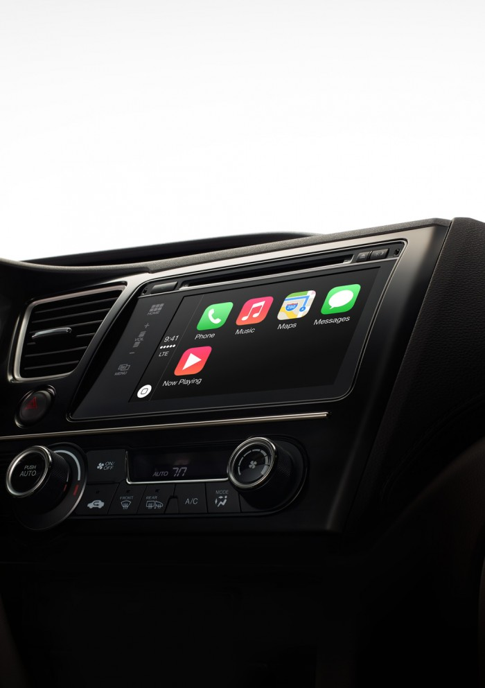 icar apple in car audio system