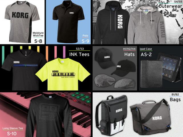 korg clothing store dj equipment