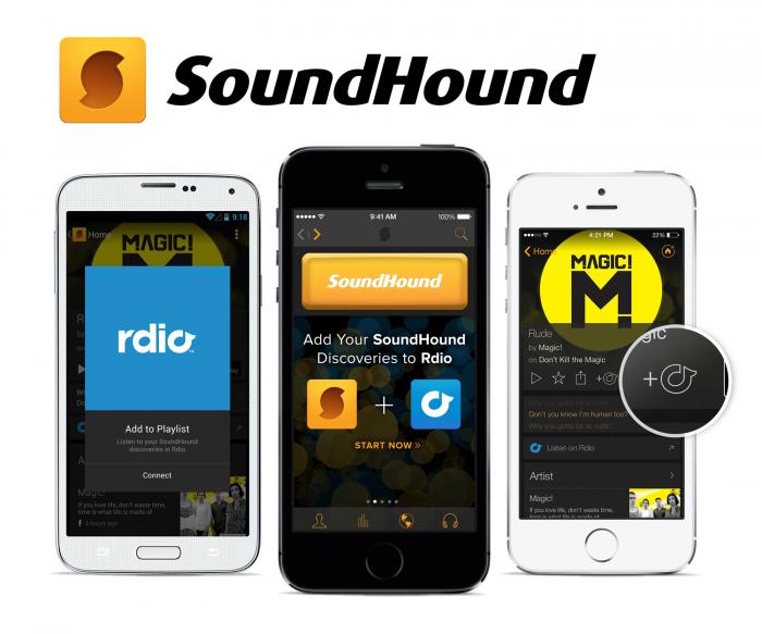 SoundHound Rdio