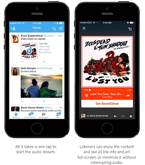 Twitter Embed SoundCloud
