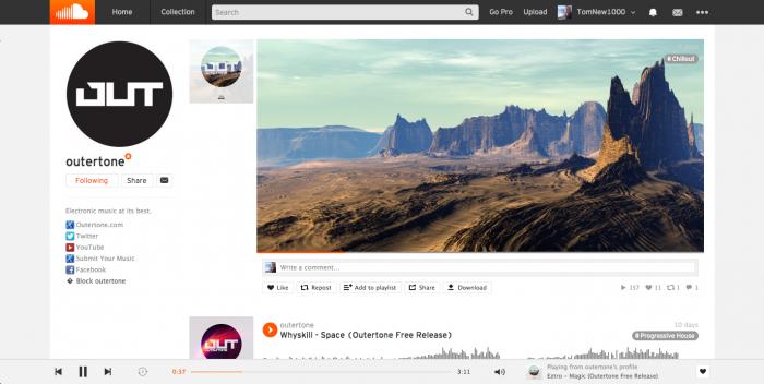 SoundCloud for Desktop Goes Flat: New Design is Live ...