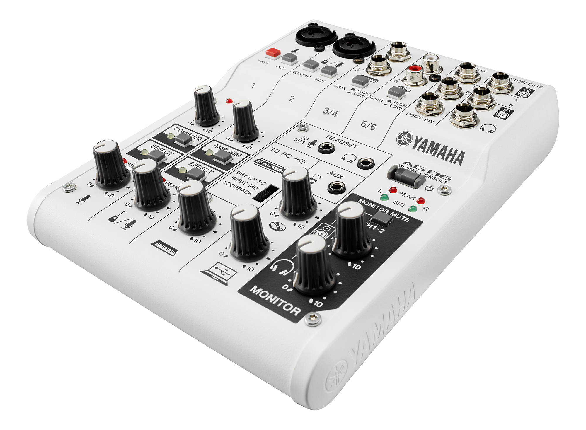 yamaha ag series mixer and usb audio interface routenote