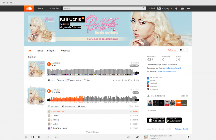 how to change your profile on soundcloud