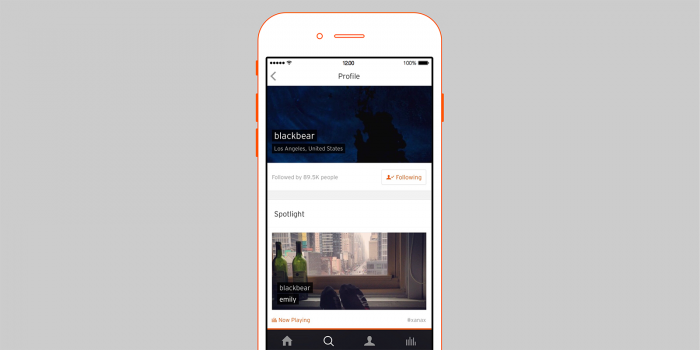 SoundCloud iOS Update