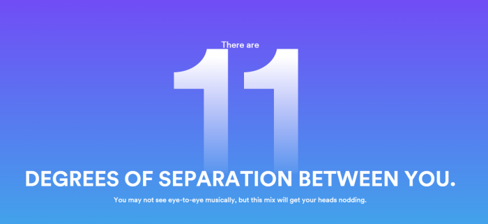 """Spotify's 'Mix Mates' shows a """"musical degree of seperation"""" between you and others"""