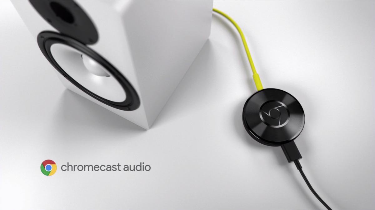 Stream Through Speakers With Google Chromecast Audio