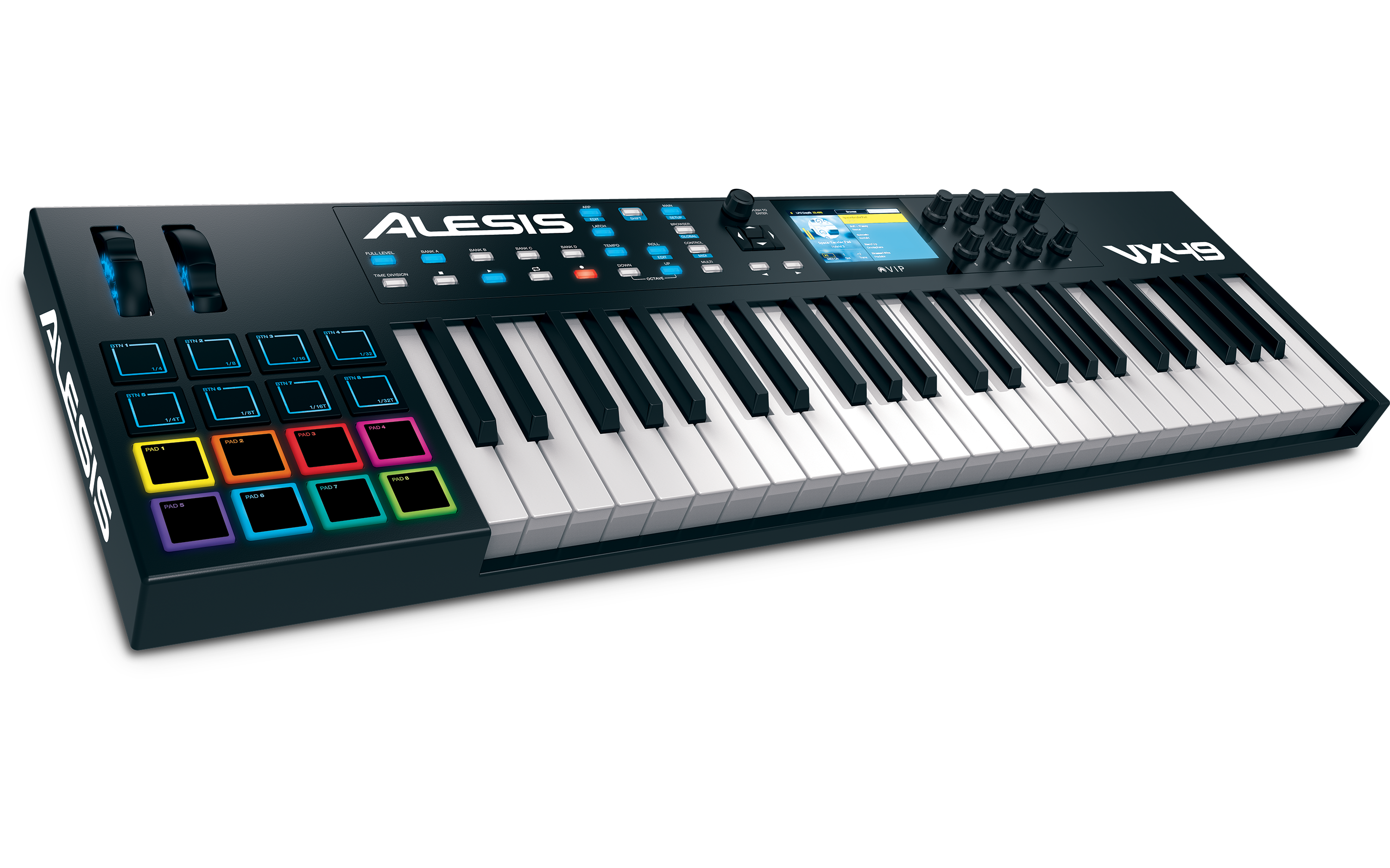alesis vx49 fully integrated midi controller keyboard routenote blog. Black Bedroom Furniture Sets. Home Design Ideas