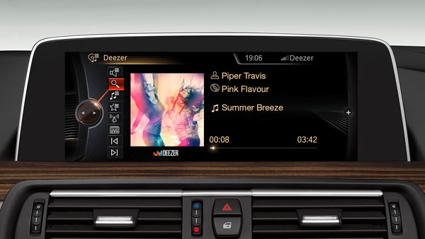 BMW Partner With Deezer For Unlimited On-The-Road Music