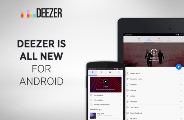 Deezer Redesign Their Android App For 2016 Routenote Blog