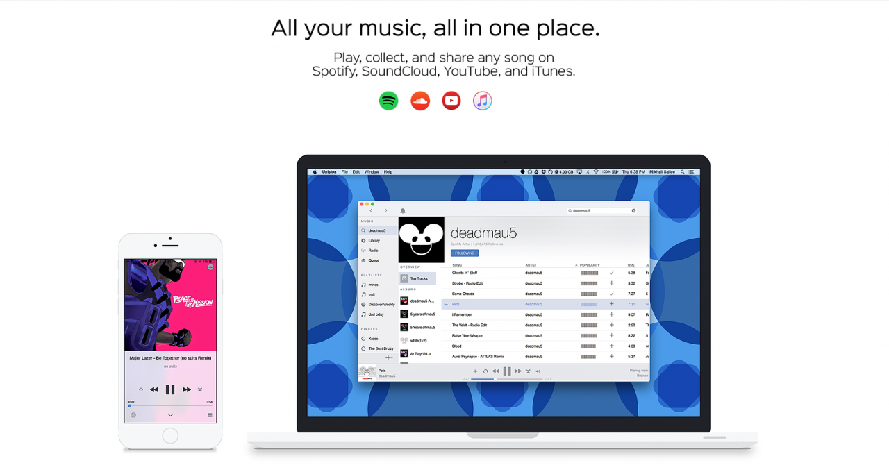 Make Playlists Across SoundCloud, Spotify and YouTube With