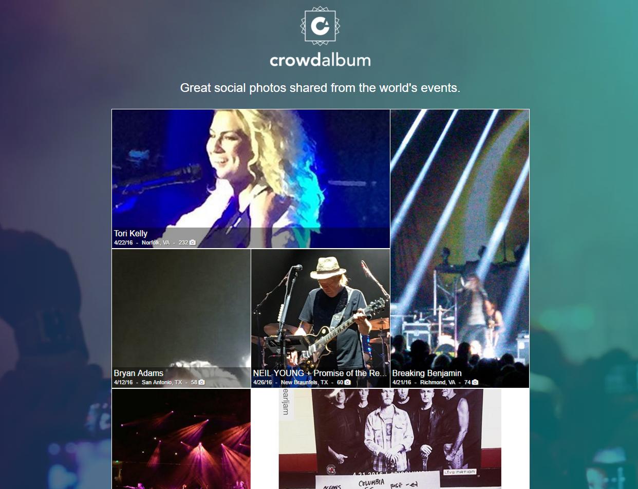 CrowdAlbum Spotify artists