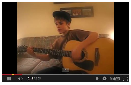 Youtube music videos justin bieber
