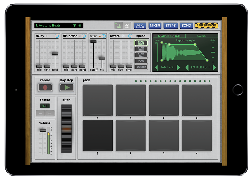 this new ios drum machine is one of the best ever routenote blog. Black Bedroom Furniture Sets. Home Design Ideas