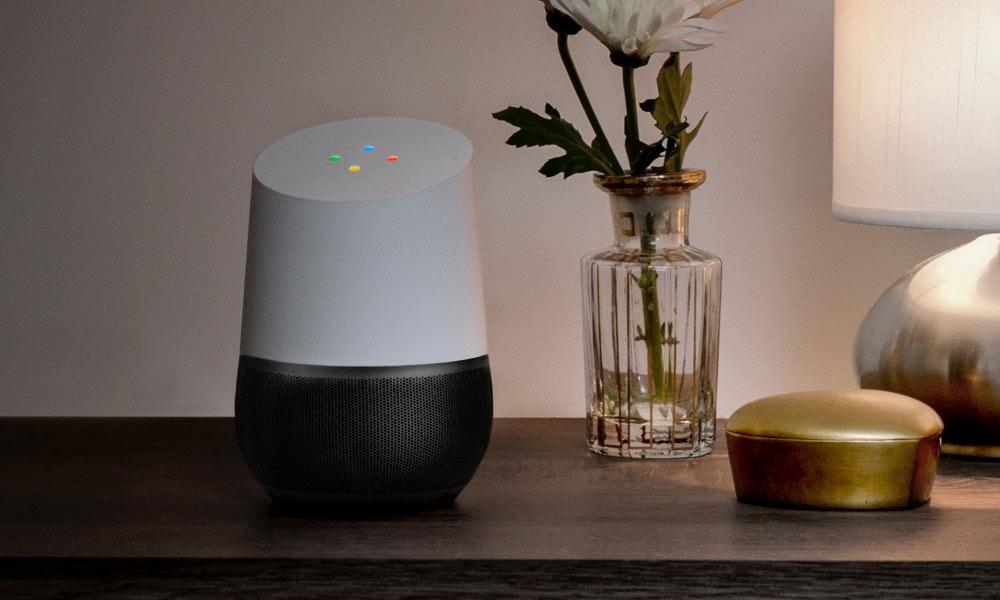 Google Home AI assistant music