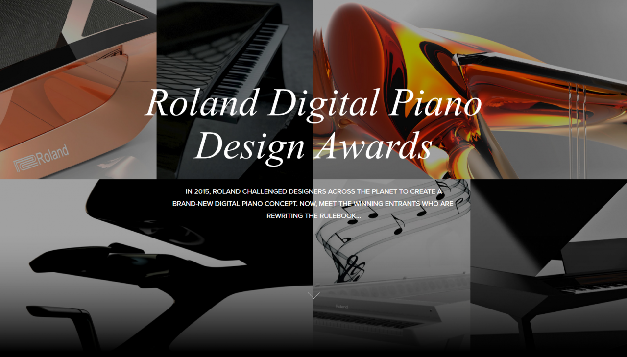 Roland Held A Digital Piano Design Awards To Get Some Of The Worlds Unheard Minds Create Unique New Designs That Could Inspire Future Pianos