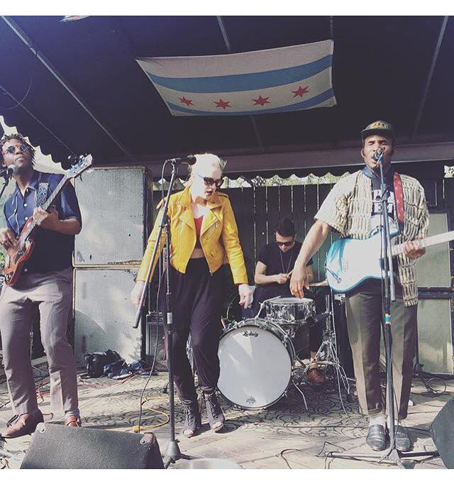 Normanton Street's first US gig, at Botticellis before SXSW