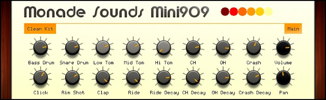 roland tr 909 emulator plugin free from monade sounds routenote blog. Black Bedroom Furniture Sets. Home Design Ideas