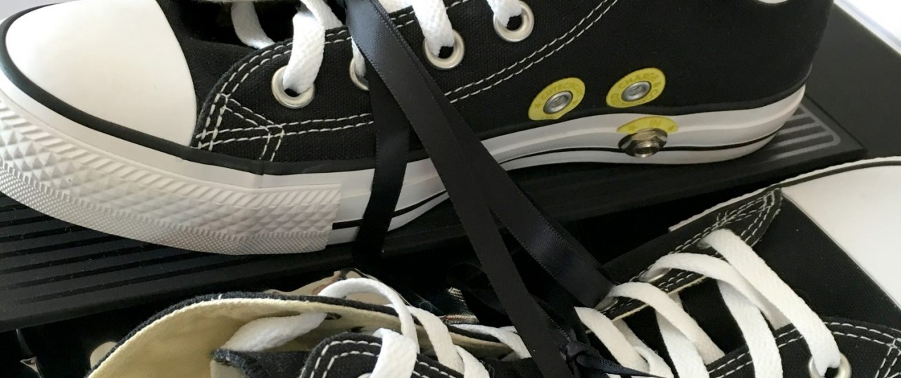a23d9781c978 Converse All Wah are a new pair of Chuck Taylors with a Wah and a couple of  jack slots in so you can shred like Hendrix just by putting on a pair of  shoes.
