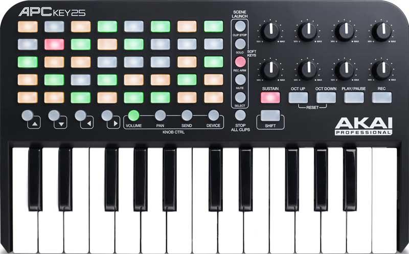 MIDI controller music production digital DAW