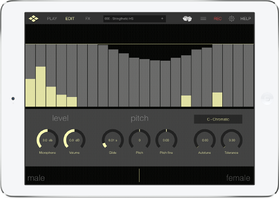 This iOS Vocoder features amazing flexibility and completely