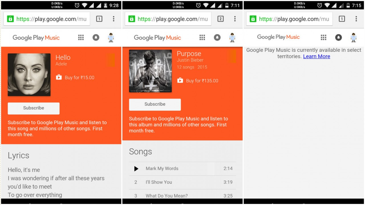 Google Play Music & YouTube Red ready for India launch ahead of