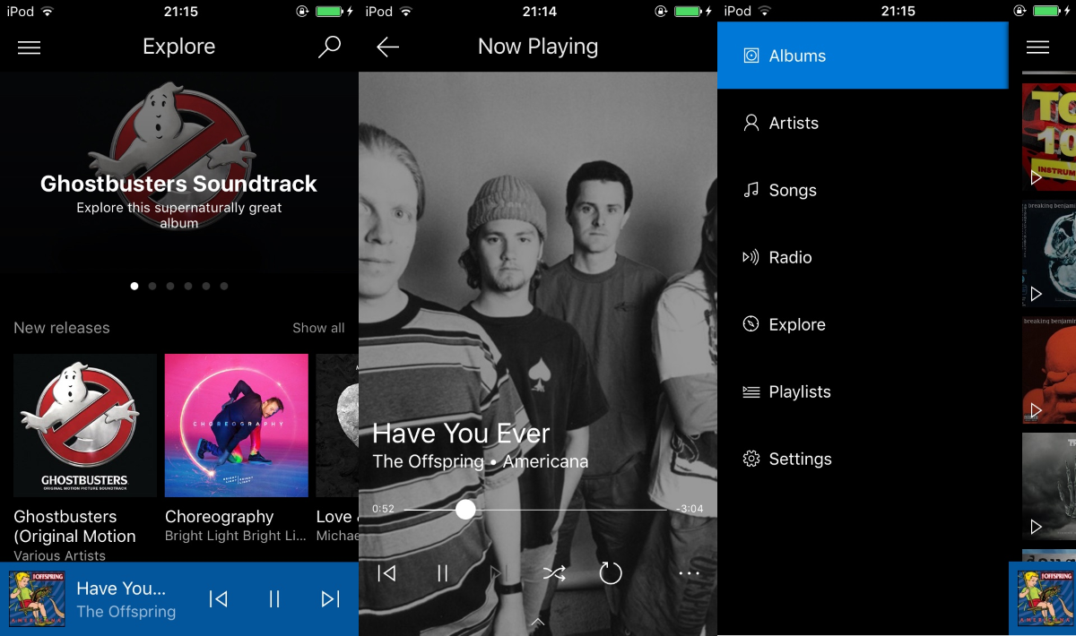 Microsoft release a giant update to Groove Music iOS and