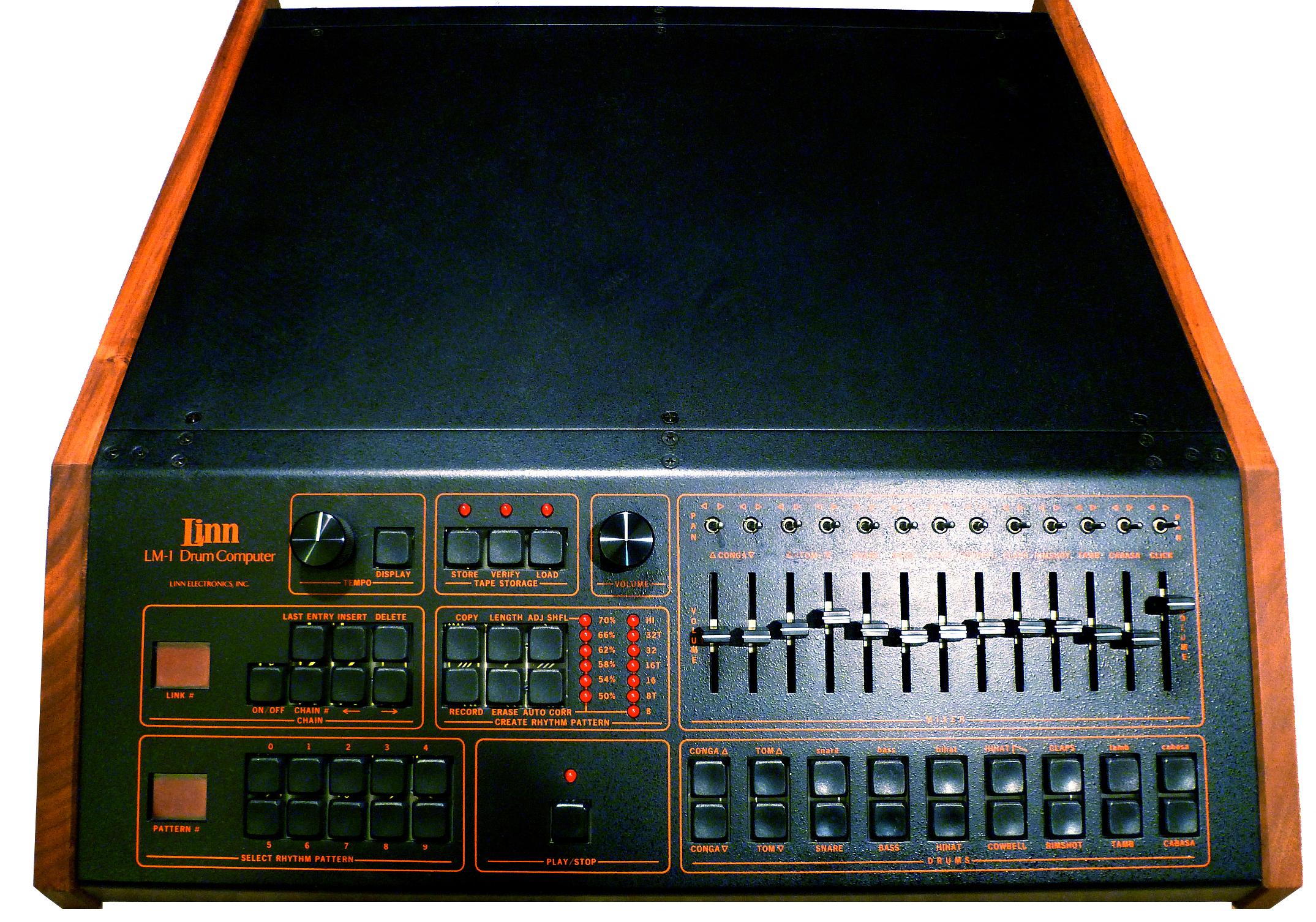 classic drum machine linndrum old