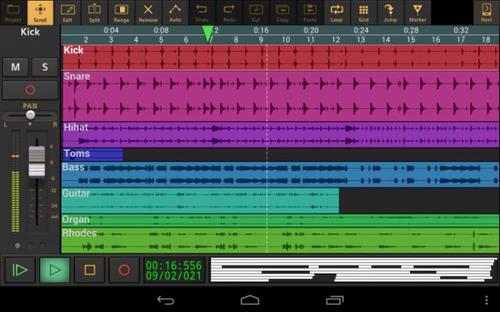 evolution android music maker app