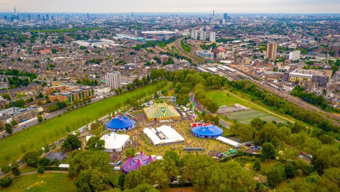 Hospitality In The Park transformed Finsbury Park, London into a drum & bass dream for a day