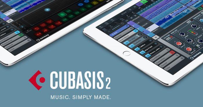 Cubasis 2 steinberg cubase mobile music daw software app application