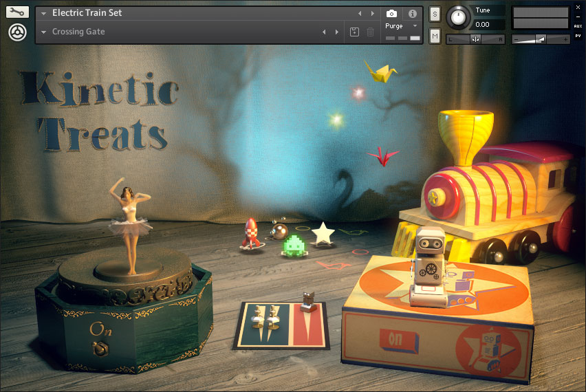 native instruments free christmas instrument lets you play with vintage childrens toys
