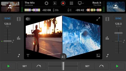 djay pro Mixing dj app iPhone iOS