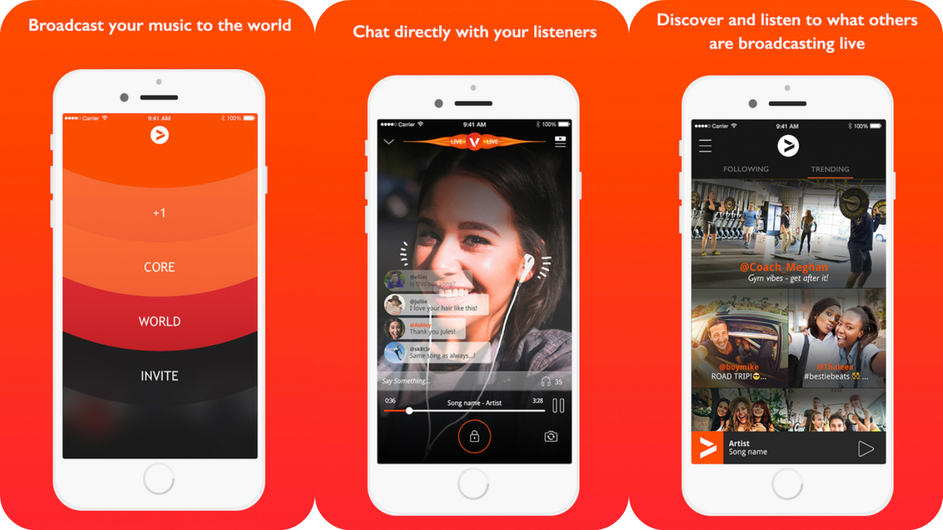 Combine Spotify with livestreaming to share your music