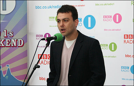 BBC Introducing radio 1 Amazon Jason Carter