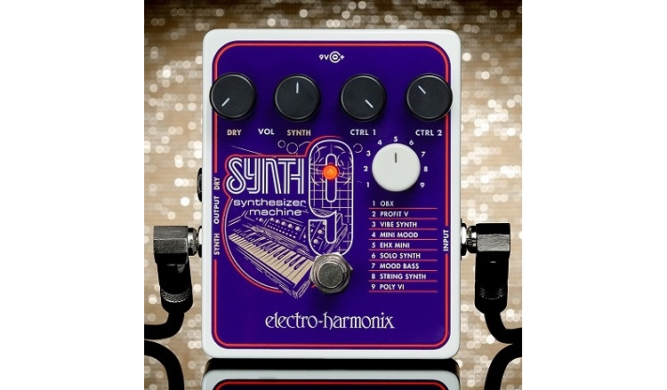 Guitar Synth Pedal >> Turn Your Guitar Into A Synth With Electro Harmonix S New Pedal