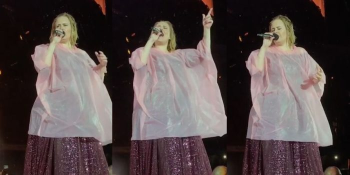 Adele performance performing live tour concert gig Adele