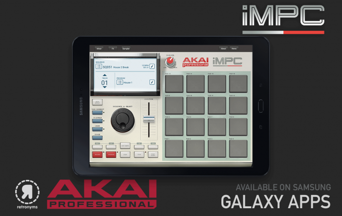 Akai Professional MPC app samsung galaxy phones tablet device music software