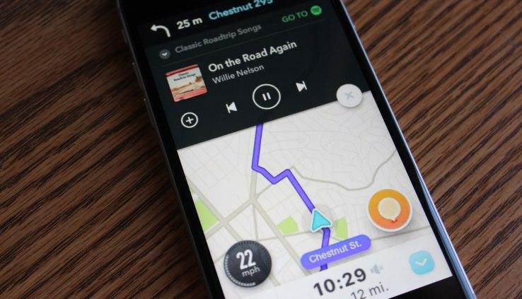 Spotify and Waze partner to soundtrack your drive alongside