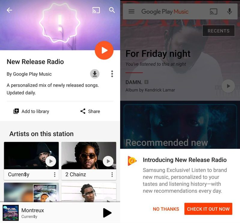 google play music gets a discover weekly type feature at long last