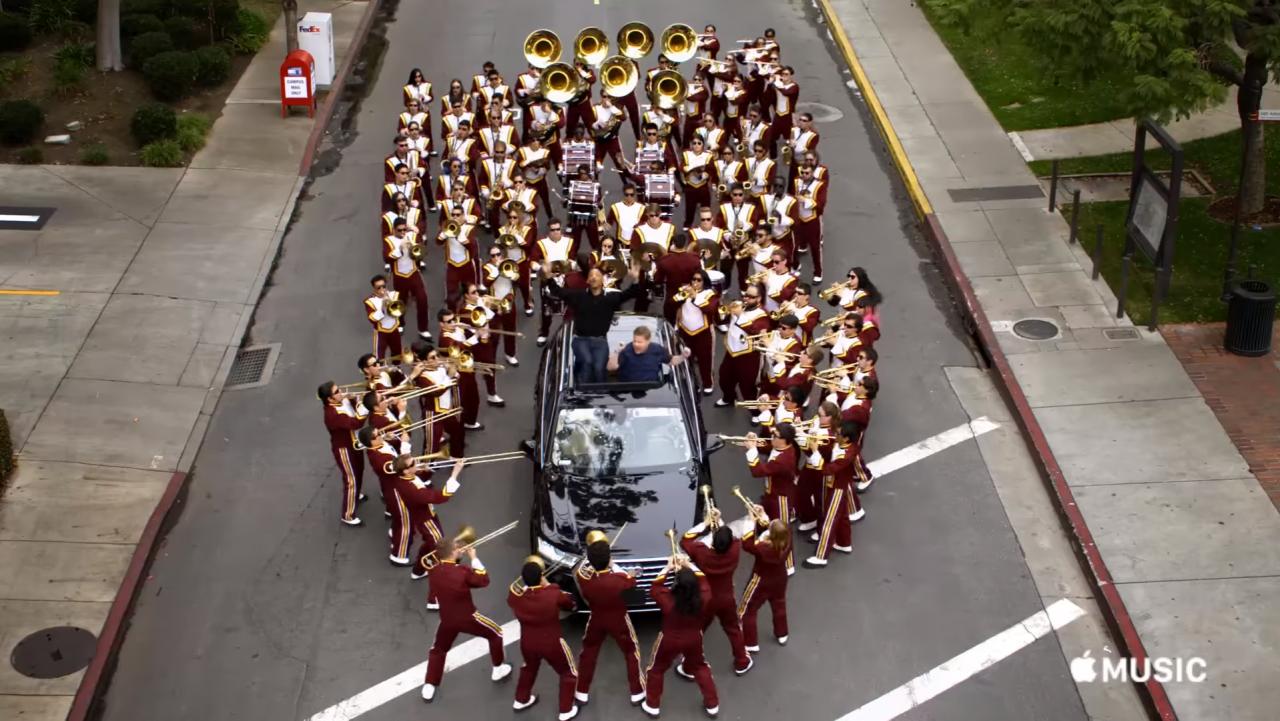 Apple S First Carpool Karaoke Stars Will Smith And Original Host