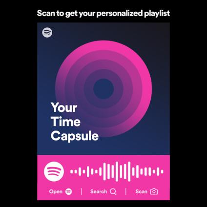 Spotify time capsule playlist